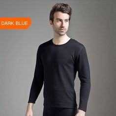 Underwear Winter Men Warm Thermal Underwear Add wool Long Johns Thermal Underwear Sets Thick Velvet Long Johns Set