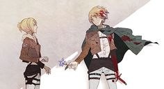 Armin Arlert x Annie Leonhart. I don't even ship them and I squeed.