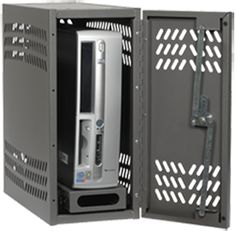 CPU Locker™ by Datum - Physically secure your CPU with this heavy duty steel constructed locker.