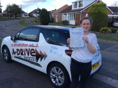 "1ST TIME DRIVING TEST PASS!!!!!  Congratulations to Daisy Thorneycroft of Northampton College who passed her practical driving test 1st time 24/9/14 at Northampton Driving Test Centre with Andrew Batty of www.adrivetuition.co.uk  Daisy said ""Thanks for all your help Andrew. I really felt confident and well prepared for the test. Will definitely recommend as my friends did to me"""