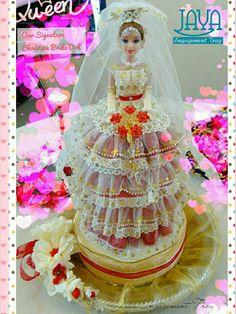 Signature Christian Bride Doll Christian Bride, Bride Dolls, Engagement, Chocolate, Cake, Handmade, Pie Cake, Hand Made, Schokolade