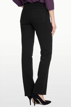 NYDJ - The Original Slimming Fit, BILLIE MINI BOOTCUT, black, Denim > Bootcut All, M40K25DT