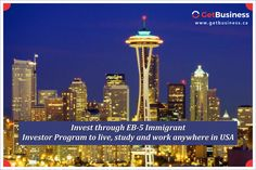 EB-5 visa program is the best way to proceed for your immigration with family.