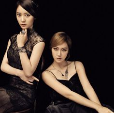Jessica and Krystal show more sisterly love in photoshoot for ...