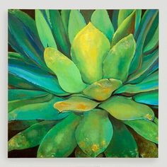 One of my favorite discoveries at WorldMarket.com: 'Agave' by Elinor Luna
