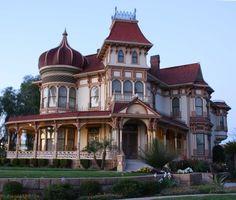 The Morey Mansion 190 Terracina Blvd Redlands, Ca.