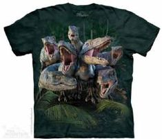 The Mountain Kids Dinoaur T-shirt | Raptor Gang
