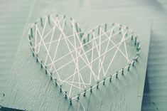 katie gets crazy with string art and i whip up some kitchen art.