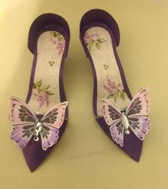 Shooglie Crafts : Paper shoes