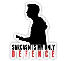 Stiles Stilinski - Sarcasm is my only defence Sticker