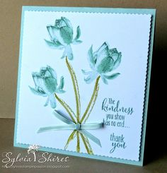 Sylvia Shires ~ Independent Stampin' Up Demonstrator based in West Yorkshire