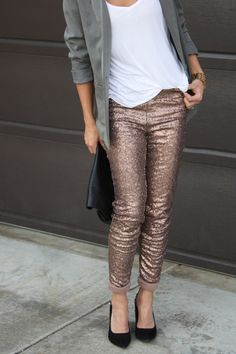 Ooh these look like an interesting alternative to a sequin skirt!