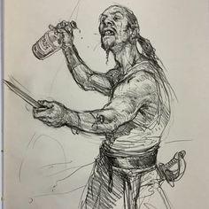 Art of Karl Kopinski - Pirate