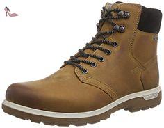 ECCO WHISTLER Gabbro GTX , bottes courtes homme - Marron (Amber/Black) -  42 EU (8.5 UK) - Chaussures ecco (*Partner-Link)
