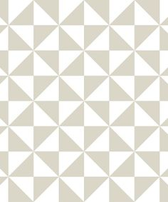 Beige & White Facets Wallpaper Decal Roll