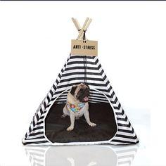 Tipi (Cabana) - Casinha para Gato e Cachorro   PetDecor Design