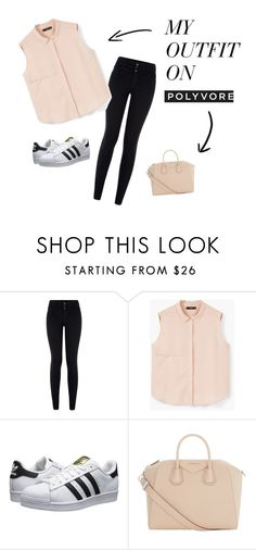 """""""Senza titolo #4"""" by viola-clerici on Polyvore featuring moda, New Look, MANGO, adidas Originals e Givenchy"""