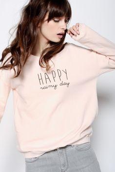 Sweat Rity Rose Clair - T-shirts m. longues et sweats - categories - e-shop