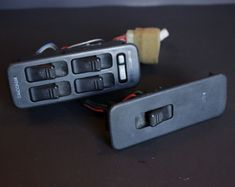 1991-1996 Ford Escort Mercury Tracer Power Window Switches Driver Passenger Side #Ford
