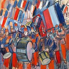La Fanfare - Raoul Dufy , 1951 French, 1877-1953 Oil on canvas