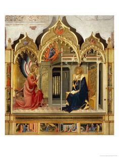 Annunciation by Lorenzo Monaco