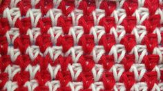 Жакардовые узоры вязания Tunisian crochet pattern  34