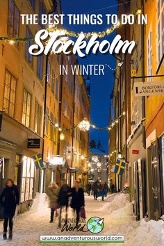 From warming up over fika to exploring the Vasa Museum, these are my favourite things to do in Stockholm in winter for that perfect city break away! Backpacking Europe, Europe Travel Tips, Travel Guides, Europe Packing, Traveling Europe, Packing Lists, Travel Hacks, Travel Packing, Travel Essentials