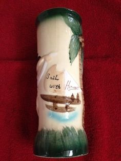 "Vintage Harvey's Lake Tahoe ""Sail With Harvey's"" Drink Mug"
