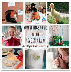Fun Things to do with Before Five in a Row at Delightful Learning ~ fun ways to enhance learning through classic children's books!