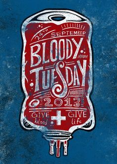 blood typography - Google Search