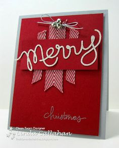 Stampin' Seasons: Silver Bells #christmascard