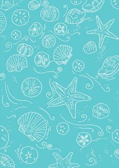 Seaside Scrapbook Paper kit