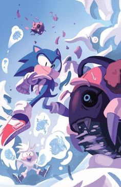 Sonic the Hedgehog 14 (IDW Publishing) Cover RI by IdeaFan128 on DeviantArt
