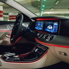 The ambient lighting system might make you spend even more time in your new E-Class - from Mercedes-Benz USA - June 2016