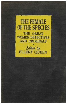 The Female of the Species: The Great Women Detectives And Criminals | scarce antiquarian book by ScottieBooks on Etsy #scottiebooks #booklovers