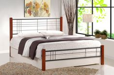 Cum alegi patul pentru dormitor - Idei, sfaturi si recomandari #mobilier #dormitor #pat #amenajare Bedroom Bed, Bedroom Furniture, Metal, Home Decor, Design, Products, Beds, House Ideas, Furniture