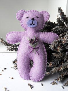 Marianne's Bears: Lavender Bears