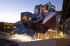 City of Wine Complex - Marques de Riscal Winery (Elceigo, Spain)  Architect: Frank Gehry 2006