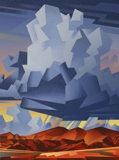 Mountain Storm, David Jonason.