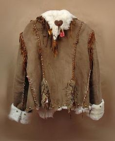 The Love Jacket by Montana Dreamwear -  New Zealand lamb with hand laced deer  leather, leather hand dyed rose petals,  vintage lace, hand twisted fringe, bronze  studs and a sterling silver heart. - $1,250.00 - via @Marilyn Pleadwell - #CowgirlChic