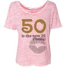 50 | #50 #flirty #thriving #50th #50thbirthdayideas #grandma #mom #fifty #fiftieth #1967 #turning50 #women #fabulous #teesbyleese #50's #cougar