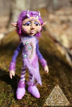 Hey, I found this really awesome Etsy listing at https://www.etsy.com/listing/174907386/cleo-mystic-faunelfpixie-ooak-art-doll