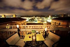 Rooftop dining at its best at Montage Beverly Hills