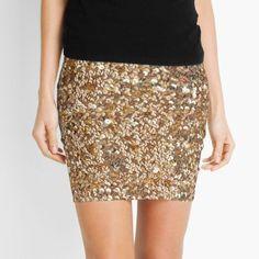 'Dark Brown Chamois' Mini Skirt by Looly Elzayat Cute Skirts, Mini Skirts, Women's Skirts, Glitter Leggings, Floral Mini Skirt, Gray Skirt, Chiffon Tops, Dress Skirt, Sequin Skirt
