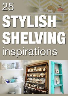 25 stylish shelving inspirations