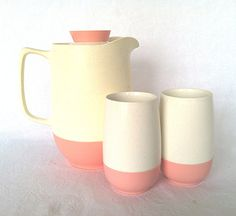 Mid Century Pink Plastic Bopp  Decker Vacron by NonabelleVintage, $30.00