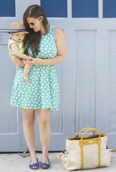 #Vintage Inspired #Vegan #Fashion for Mama & Baby!
