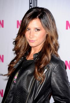 Ashley Tisdale Long Curls