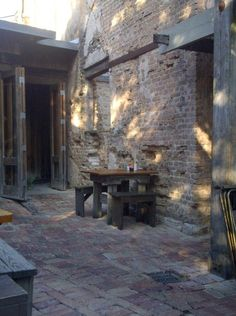 The Gristmill Restaurant is located on   the banks of the Guadalupe   River in Gruene Historic   District, in New Braunfels,   Texas in the Texas Hill Country.  http://gruenetexas.com/