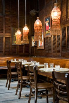 Gardener and Marks' eye for detail was crucial to the interior design of the new look Local Taphouse. The decor comprises of hand picked one-off pieces Vietnam Restaurant, Café Restaurant, Restaurant Concept, Restaurant Interior Design, Cafe Interior, Thai Cafe, Thai Decor, Thai Design, Asian Interior